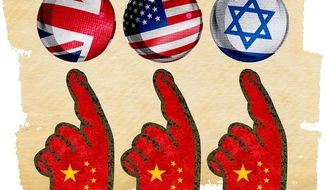 Pointing the Finger Illustration by Greg Groesch/The Washington Times