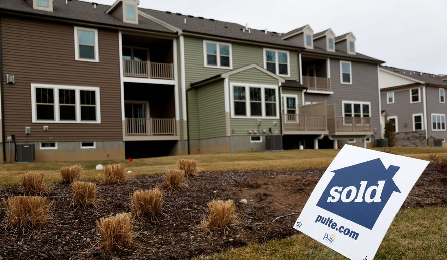 The coronavirus will not affect the value of homes because the greater D.C. market has more potential buyers than sellers. (Associated Press)