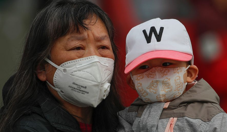 The U.S. has been pushing back against a disinformation campaign about the coronavirus from the Chinese government. The resistance has largely been on social media, which Beijing doesn't like, a State Department official said. (ASSOCIATED PRESS)