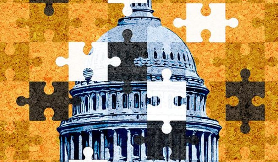 Preserving the continuity of government illustration by  The Washington Times