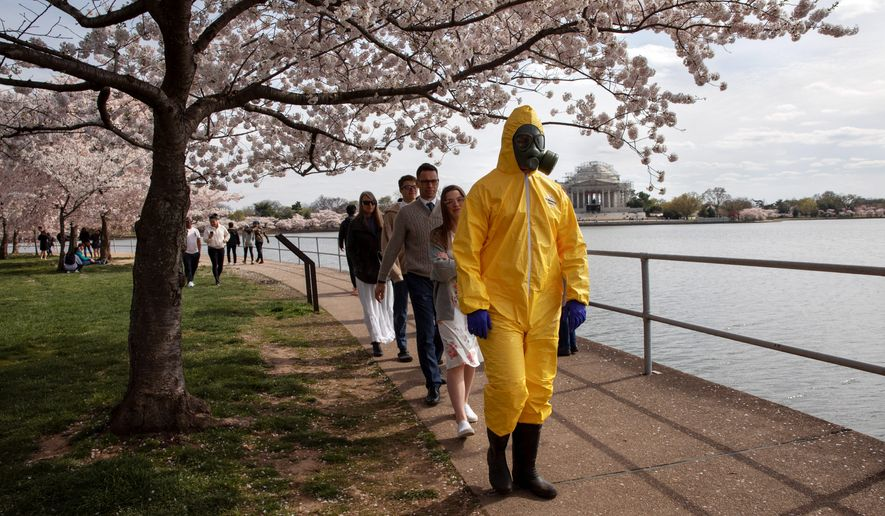D.C. Mayor Muriel Bowser has extended the citywide public health emergency for COVID-19 to at least April 25, meaning that a ban on gatherings of 50 or more people will remain in effect until then. (Associated Press)