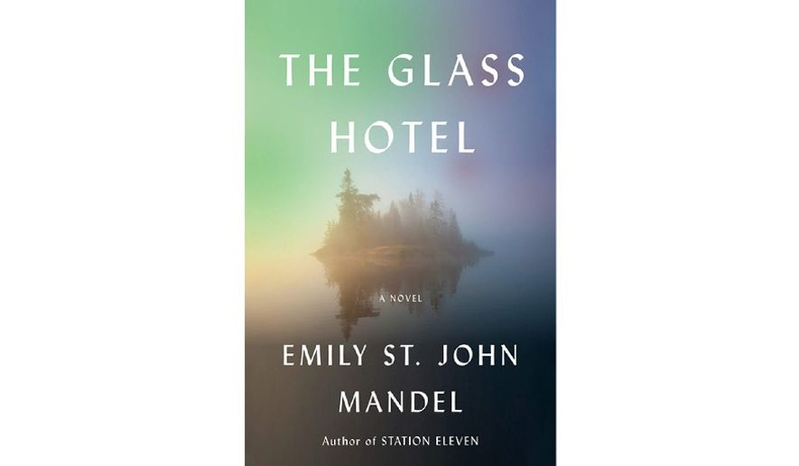 'The Glass Hotel' (book cover)