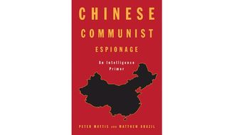 'Chinese Communist Espionage' (book cover)
