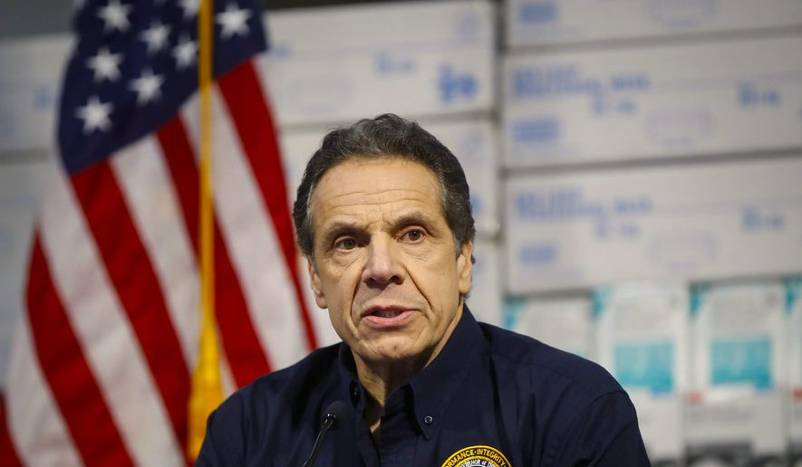 Based on his fiery presence, some wonder if New York Gov. Andrew Cuomo could become a Democratic presidential hopeful. (Associated Press)