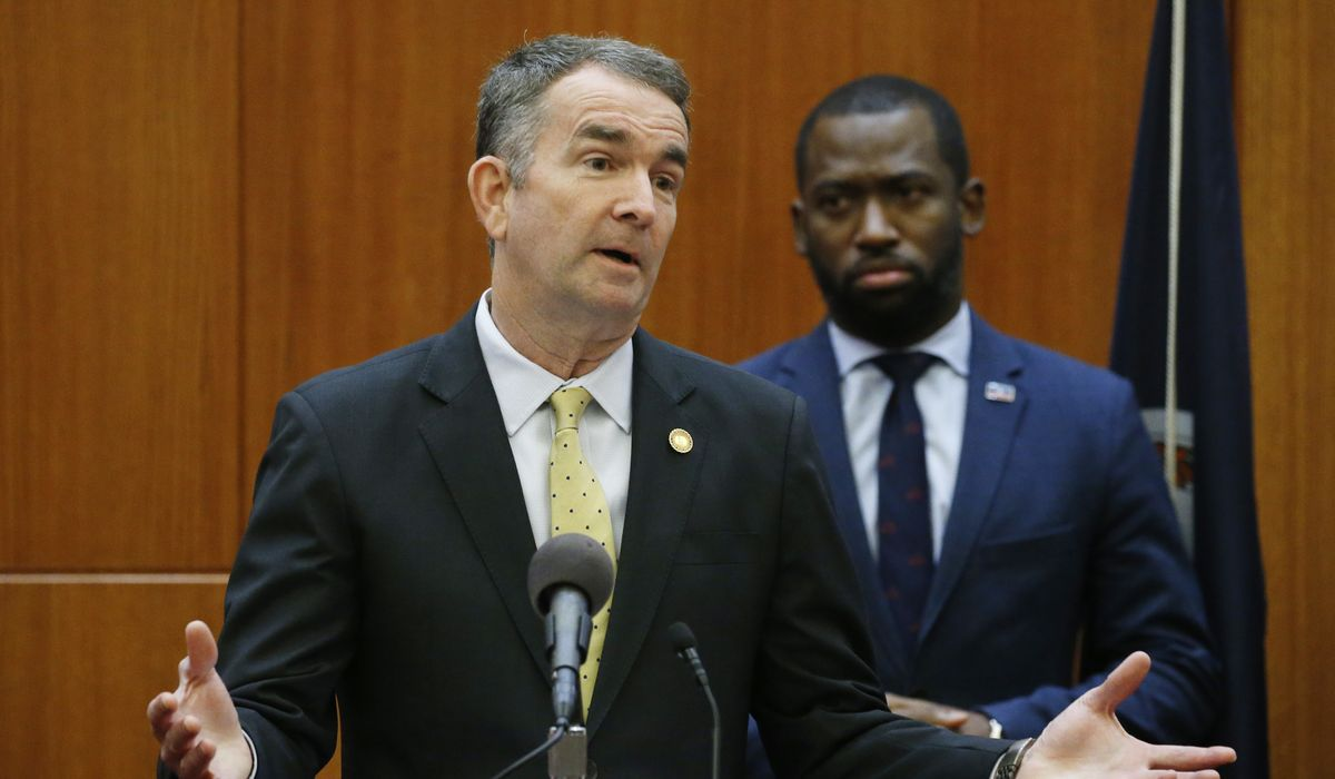 Virginia Gov. Northam issues stay-at-home order