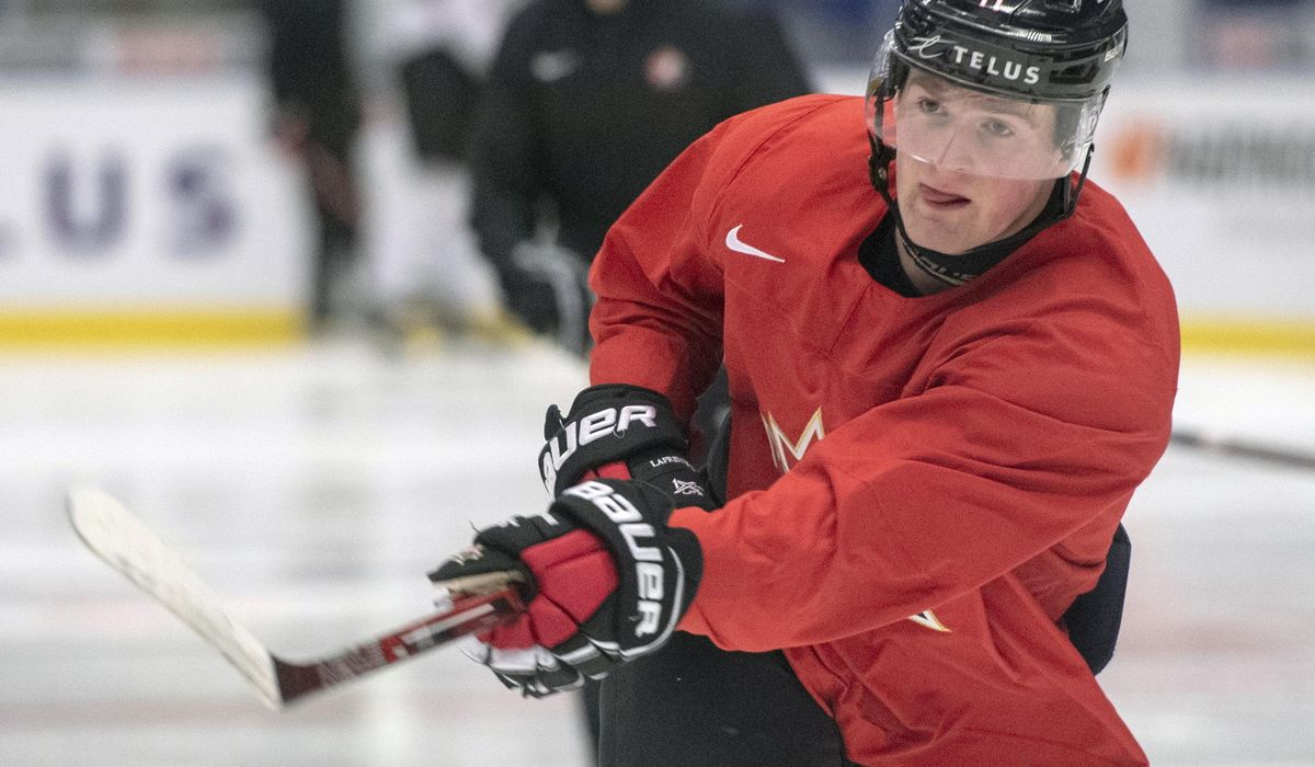 NHL's top draft prospect staying patient amid uncertainty