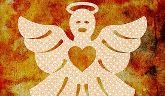 Angel of Mercy Illustration by Greg Groesch/The Washington Times