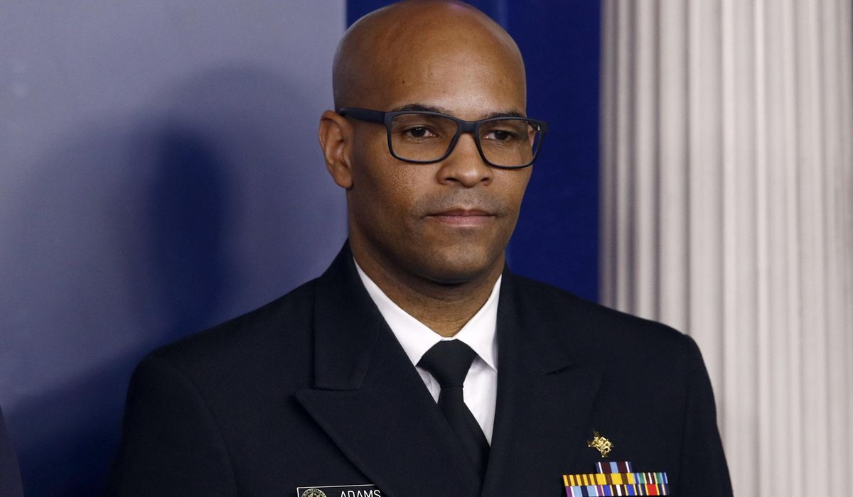 U.S. Surgeon General Jerome Adams: Feds not recommending general public wear masks