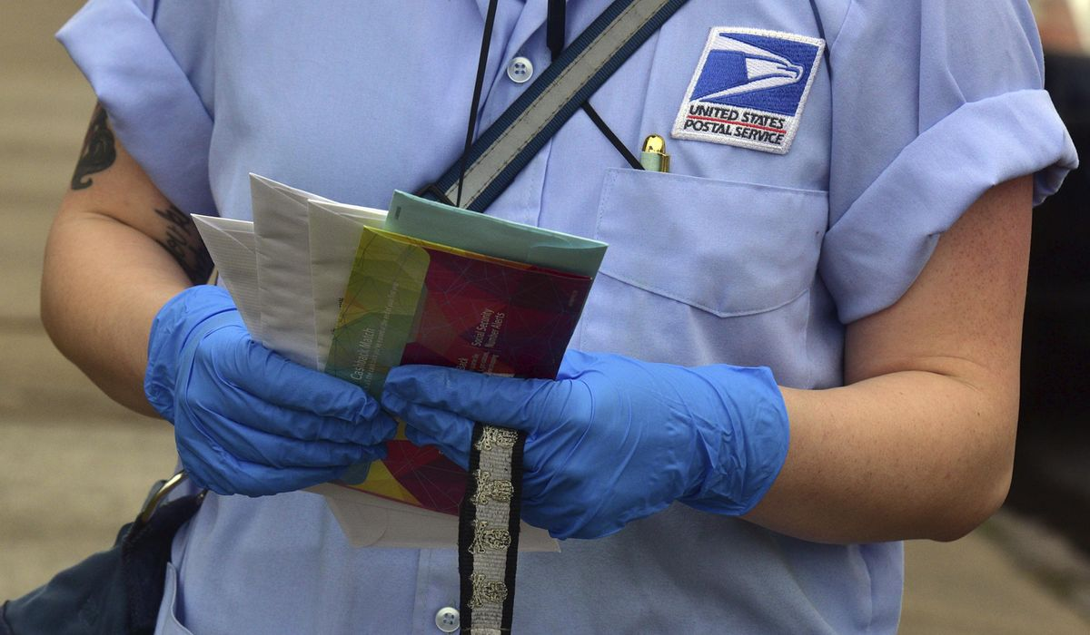 Postal worker pleads guilty to mail tampering, election fraud