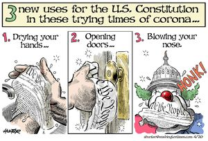 Three new uses for the U.S. Constitution in these trying times of corona ...