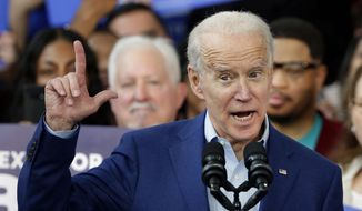 Democratic presidential hopeful Joe Biden now has to pick a running mate, a tough choice indeed for the former vice president. (Associated Press)