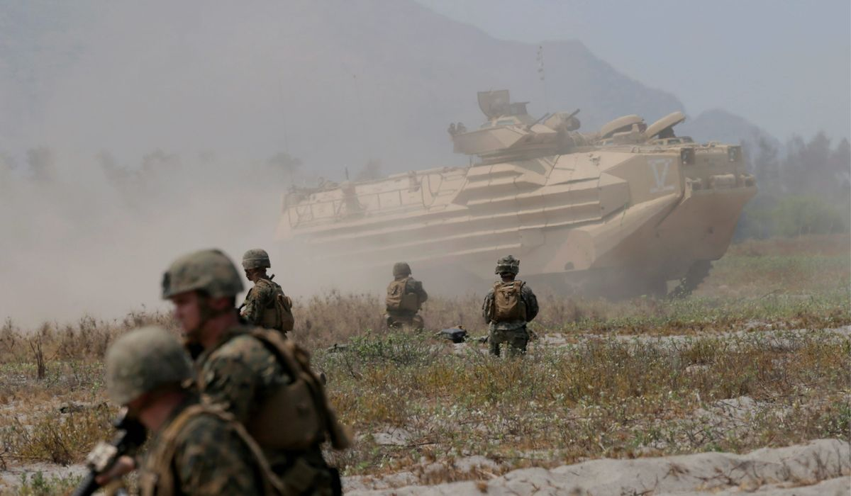 Marine Corps cuts helicopters, tanks for possible China conflict
