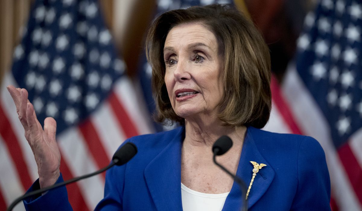 Nancy Pelosi: Everything we're doing is specific to the coronavirus challenge
