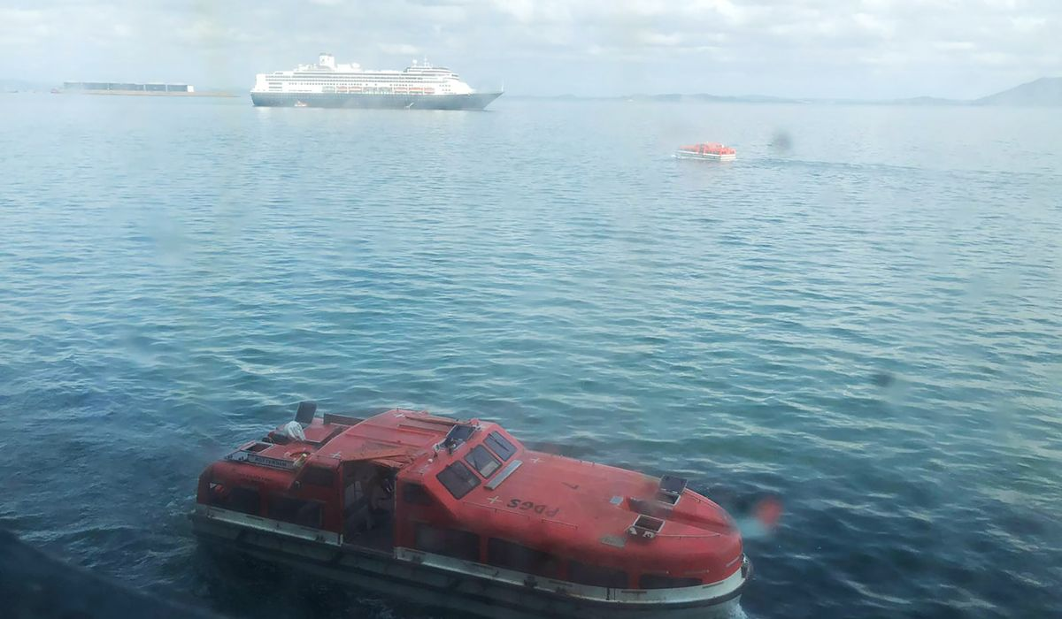 Ron DeSantis doesn't want Holland America Zandaam cruise ship passengers in Florida - Washington Times thumbnail