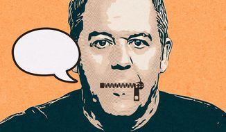 Greg Gutfeld Unspoken Illustration by Greg Groesch/The Washington Times