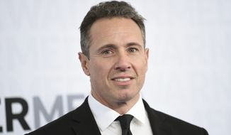CNN news anchor Chris Cuomo attends WarnerMedia Upfront in New York, May 15, 2019. (Photo by Evan Agostini/Invision/AP) ** FILE **