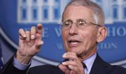 Dr. Anthony Fauci, director of the National Institute of Allergy and Infectious Diseases, speaks about the coronavirus in the James Brady Press Briefing Room of the White House, Tuesday, March 31, 2020, in Washington. (AP Photo/Alex Brandon)