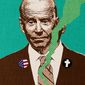 Biden Flip Flop Illustration by Greg Groesch/The Washington Times