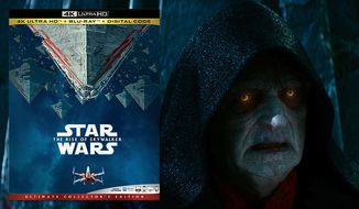 """Emperor Palpatine returns in """"Star Wars: Episode IX – The Rise of Skywalker,"""" now available on 4K Ultra HD from Walt Disney Studios Home Entertainment."""