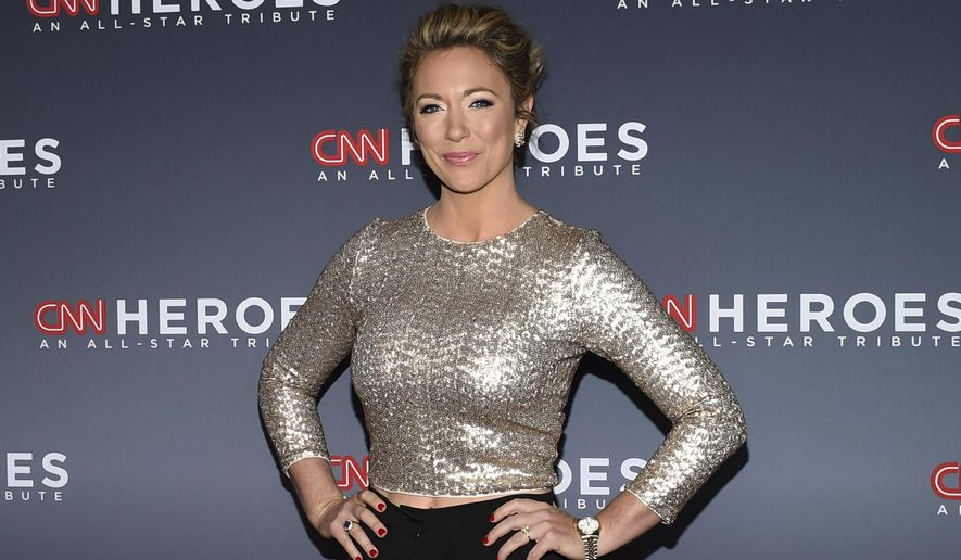 This Dec. 17, 2017 file photo shows CNN news anchor Brooke Baldwin at the 11th annual CNN Heroes: An All-Star Tribute at the American Museum of Natural History in New York. Baldwin says she's tested positive for the coronavirus. She's the second on-air personality at the news network to come down with the disease in the past week. Prime time host Chris Cuomo has also tested positive and did two of his shows remotely from the basement of his home. Baldwin says the fever, aches and chills that are often a sign of Covid-19 came on suddenly for her. (Photo by Evan Agostini/Invision/AP, File)