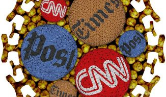 Media Virus Illustration by Greg Groesch/The Washington Times