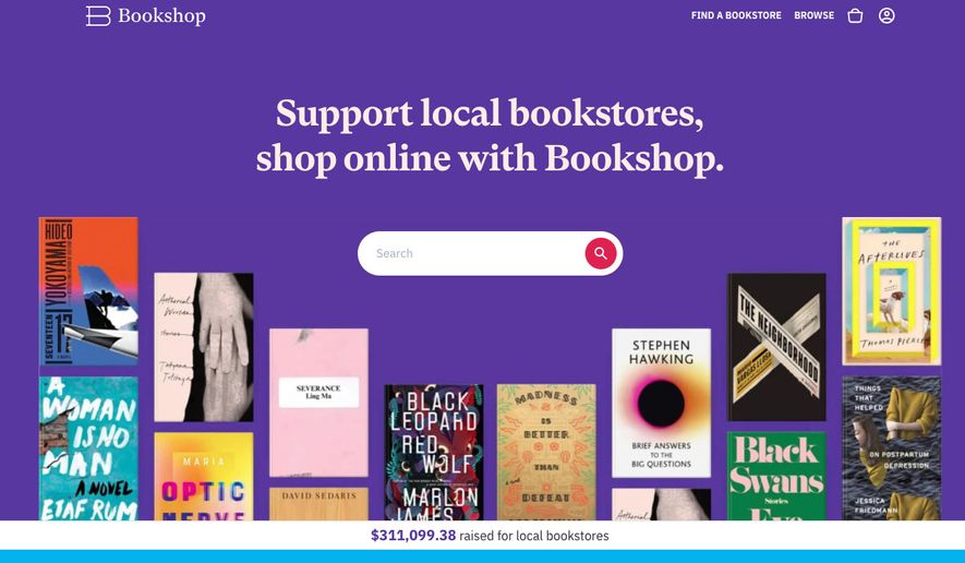 Bookshop.org screenshot