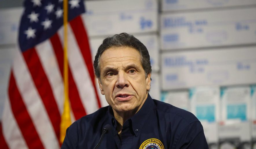 New York Gov. Andrew Cuomo is shown in this undated file photo.  (AP Photo) **FILE**