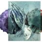 Illustration on prayer in times of epidemic by Alexander Hunter/The Washington Times