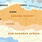Northern Africa Map Illustration by Greg Groesch/The Washington Times
