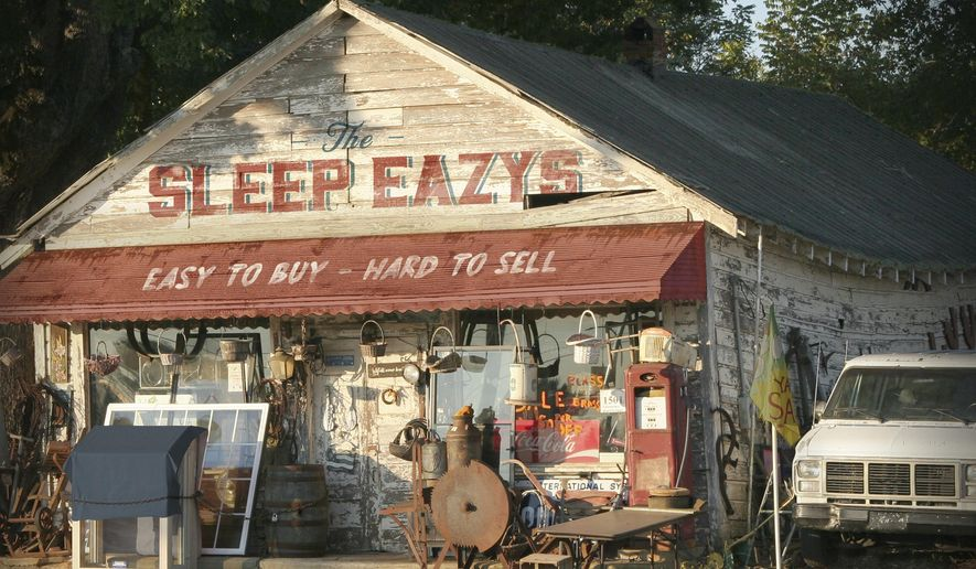 "This cover image released by J&R Adventures shows ""Easy To Buy, Hard To Sell"" by The Sleep Eazys. (J&R Adventures via AP)"