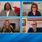 "The women of ABC's ""The View"" on Friday, April, 10, 2020, took turns bashing Chicago Mayor Lori Lightfoot for defending herself as the ""face of the city"" after getting a controversial haircut while other Chicagoans are being forced to stay home during the coronavirus pandemic. (screen grab ABC's 'The View')"