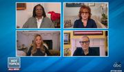 """The women of ABC's """"The View"""" on Friday, April, 10, 2020, took turns bashing Chicago Mayor Lori Lightfoot for defending herself as the """"face of the city"""" after getting a controversial haircut while other Chicagoans are being forced to stay home during the coronavirus pandemic. (screen grab ABC's 'The View')"""