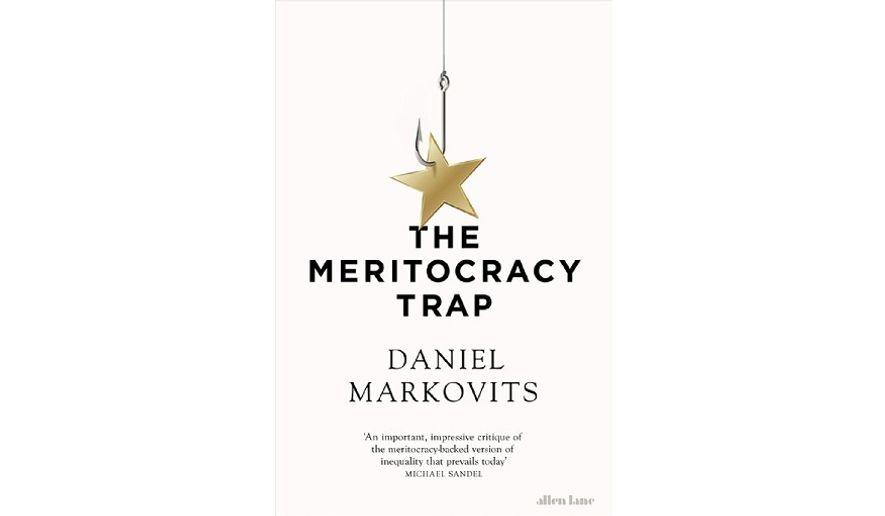 'The Meritocracy Trap' (book cover)