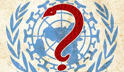 Where is the WHO Illustration by Greg Groesch/The Washington Times