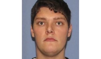FILE - This undated file photo provided by the Dayton Police Department shows Connor Betts, the 24-year-old masked gunman in body armor who killed several people, including his sister, before he was slain by police. The Ohio Supreme Court agreed to hear oral arguments in a case filed by news media groups seeking school records about Betts, who gunned down nine people in Dayton last August before being killed by police. The court made the announcement Monday, April 13, 2020. (Dayton Police Department via AP, File)