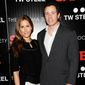 "Christina Cuomo and Chris Cuomo attend the premiere of ""Safe"" hosted by Lionsgate, The Cinema Society and TW Steel at Chelsea Cinemas on Monday, April 16, 2012 in New York. (AP Photo/Evan Agostini)"