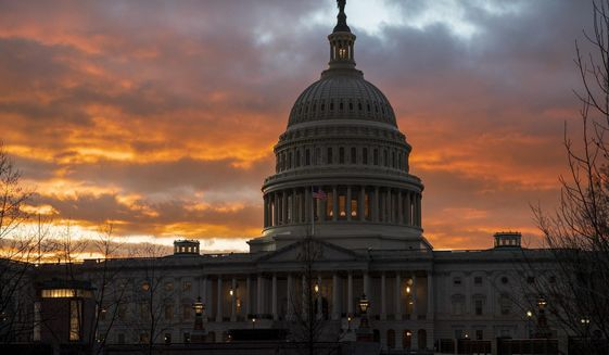 Americans have confidence the work of the federal government will continue even if members of Congress become ill with coronavirus. (Associated Press)