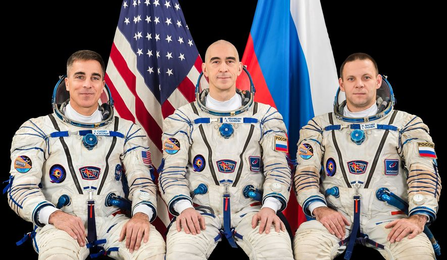NASA astronaut Chris Cassidy and Roscosmos cosmonauts Anatoly Ivanishin and Ivan Vagner flew to the International Space Station on April 10, 2020.