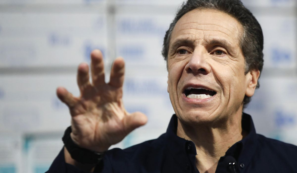 Andrew Cuomo to get International Emmy for coronavirus briefings
