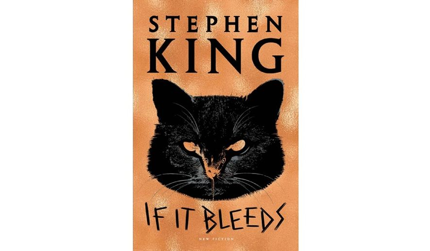 If It Bleeds Stephen King (book cover)