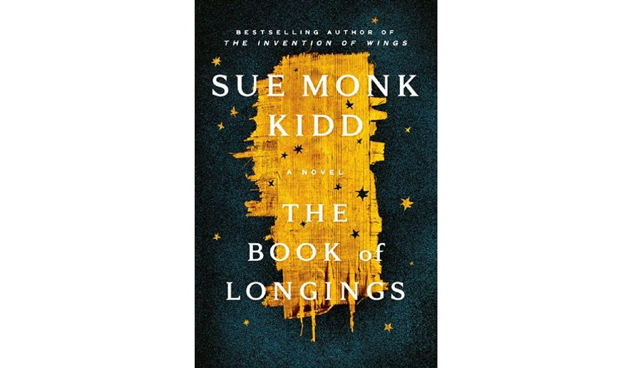 The Book of Longings: A Novel by Sue Monk Kidd  (book cover)