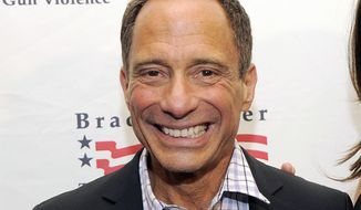 FILE - This May 7, 2013, file photo shows TMZ.com founder Harvey Levin at The Brady Campaign to Prevent Gun Violence Los Angeles Gala in Beverly Hills, Calif. Levin admitted to some worry about how stay-at-home orders would affect the amount of material he needed to fuel his infotainment empire at TMZ. But celebrities still need attention, even if they're not out and about, and Levin found out there's still plenty of things to talk about.  (Photo by Chris Pizzello/Invision/AP, File)