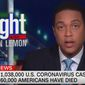 "CNN's Don Lemon says President Trump's decision to scale back coronavirus pandemic briefings is part of a ""plan"" to convince Americans that it's safe to reopen the U.S. economy, April 29, 2020. (Image: CNN video screenshot)"