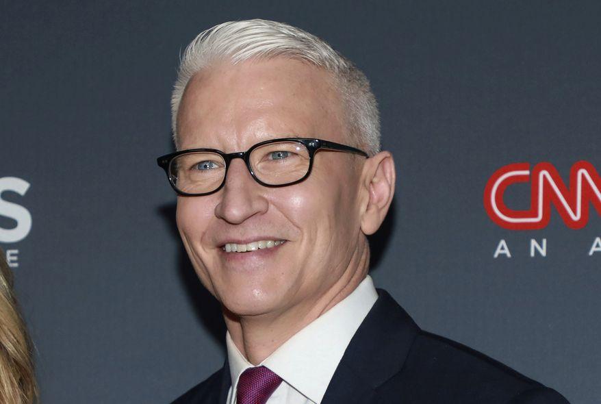 Anderson Cooper, CNN anchor. (Photo by Jason Mendez/Invision/AP, File) **FILE**