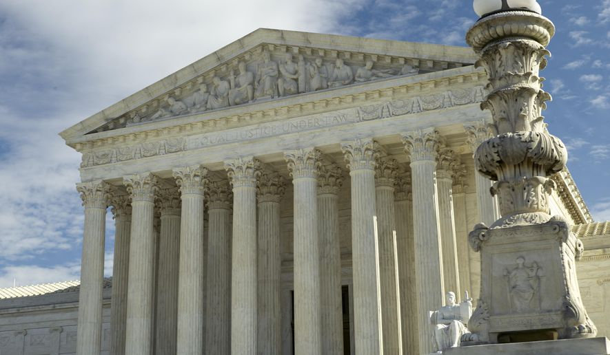 The coronavirus pandemic is forcing big changes at the tradition-bound Supreme Court. (AP Photo/Mark Tenally)