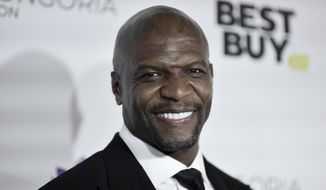 In this Nov. 15, 2019, file photo, Terry Crews attends the 2019 Eva Longoria Foundation Dinner Gala in Los Angeles. (Photo by Richard Shotwell/Invision/AP, File)