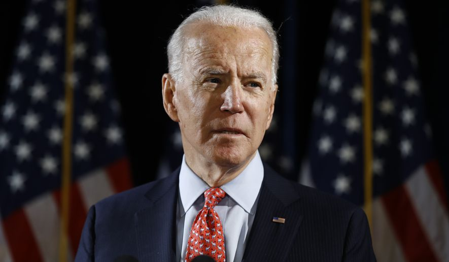 Former Vice President Joseph R. Biden said he will not heed calls to have the University of Delaware release his Senate papers. (AP Photo/Matt Rourke, File)