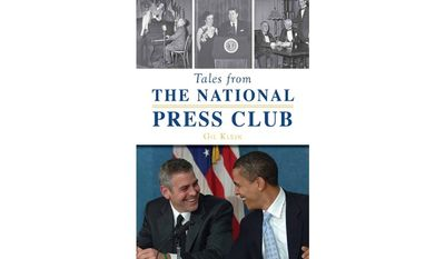 Tales From The National Press Club by Gil Klein (book cover)