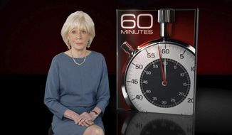 """This image released by CBS News shows """"60 Minutes"""" correspondent Lesley Stahl. who revealed Sunday that she had been hospitalized by COVID-19 but recovered, one of a number of cases of the disease that led to the shutdown of its offices. (CBS News via AP)"""