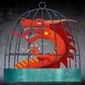 Caged Dragon Illustration by Greg Groesch/The Washington Times